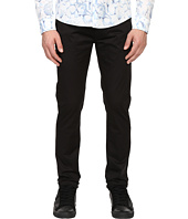 Armani Jeans - Slim Fit Button Fly Jeans in Black