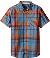 O'Neill Kids - Emporium Plaid Short Sleeve Shirt (Big Kids)