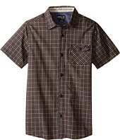 O'Neill Kids - Emporium Check Short Sleeve Shirt (Big Kids)