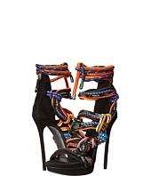 DSQUARED2 - Camoscio Lacci Tecnici Strass Sandal