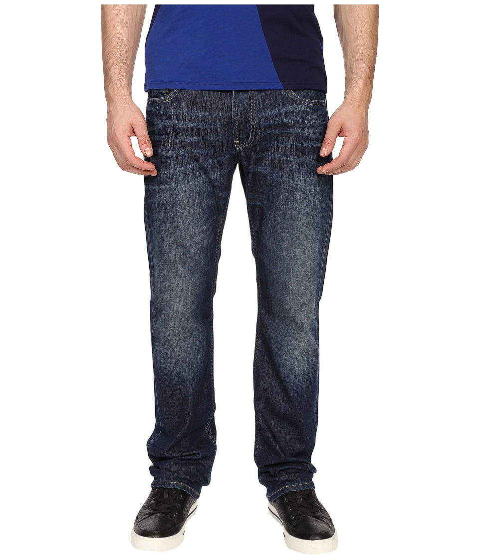 Armani Jeans Regular Fit Button Fly Jeans in Denim Denim Mens Jeans