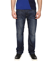 Armani Jeans - Regular Fit Button Fly Jeans in Denim