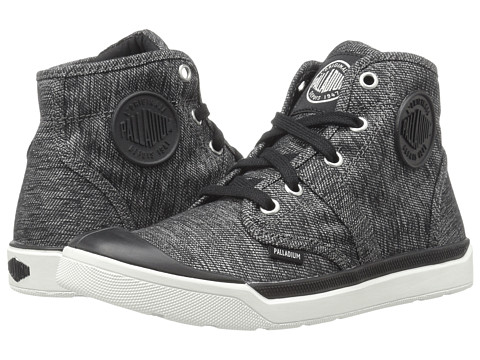 Palladium Pallarue Hi TX - Black/Gray/White
