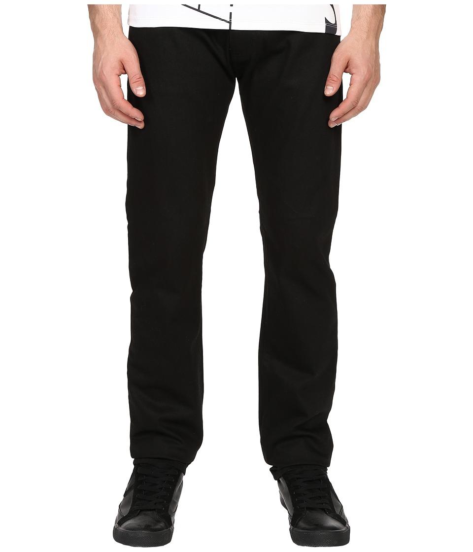 Armani Jeans Five Pocket Denim in Black Black Mens Jeans