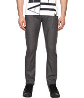 Armani Jeans - Slim Fit Zipper Closure Jeans in Grey