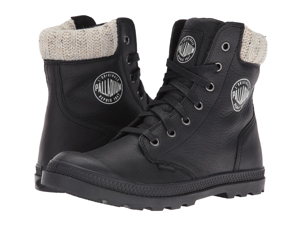 Palladium Pampa Hi Knt LP (Black) Women