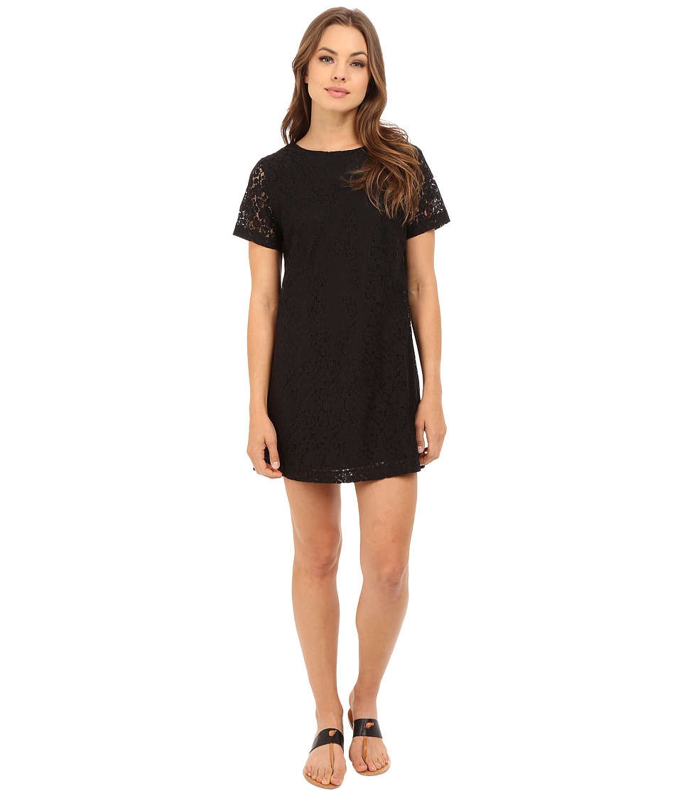 Lucy Love Charlotte Shift Black Womens Dress