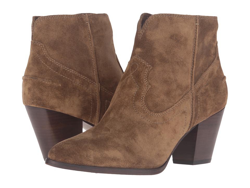 Frye Renee Seam Short (Cashew) Cowboy Boots