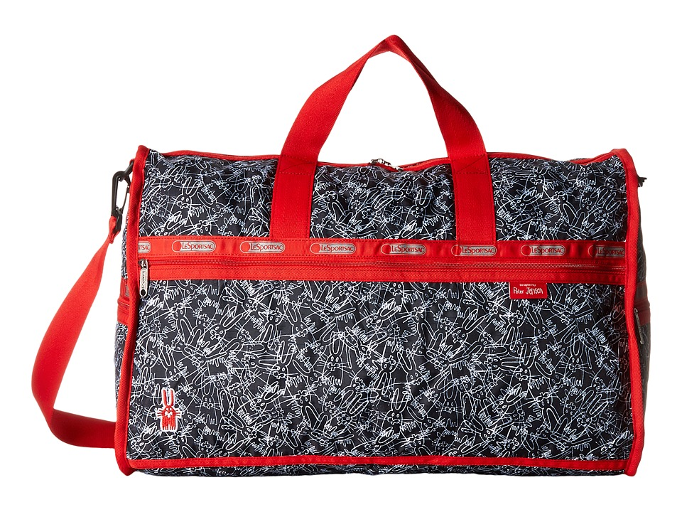 LeSportsac Luggage - Large Weekender (Scribble Rabbits) Duffel Bags