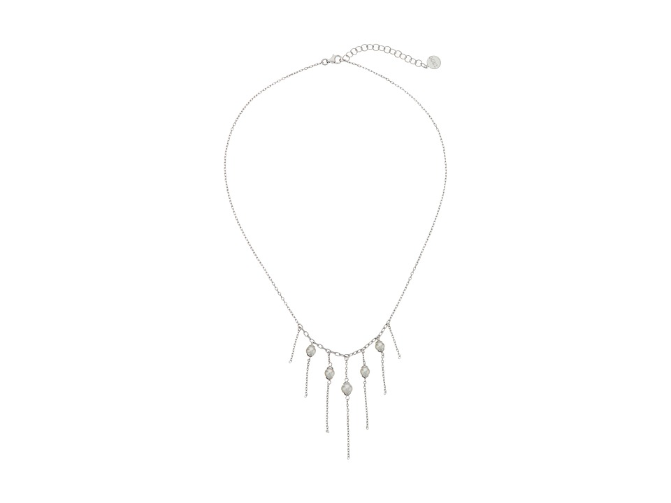 Majorica Willow Necklace Silver/White Necklace