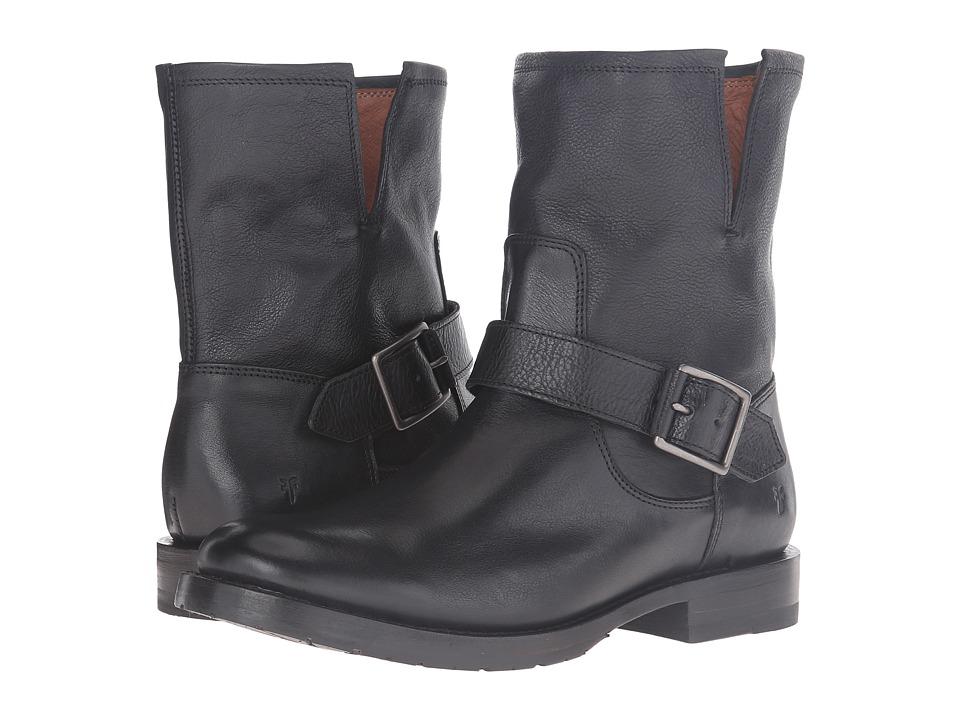 Frye - Natalie Short Engineer (Black) Women's Boots