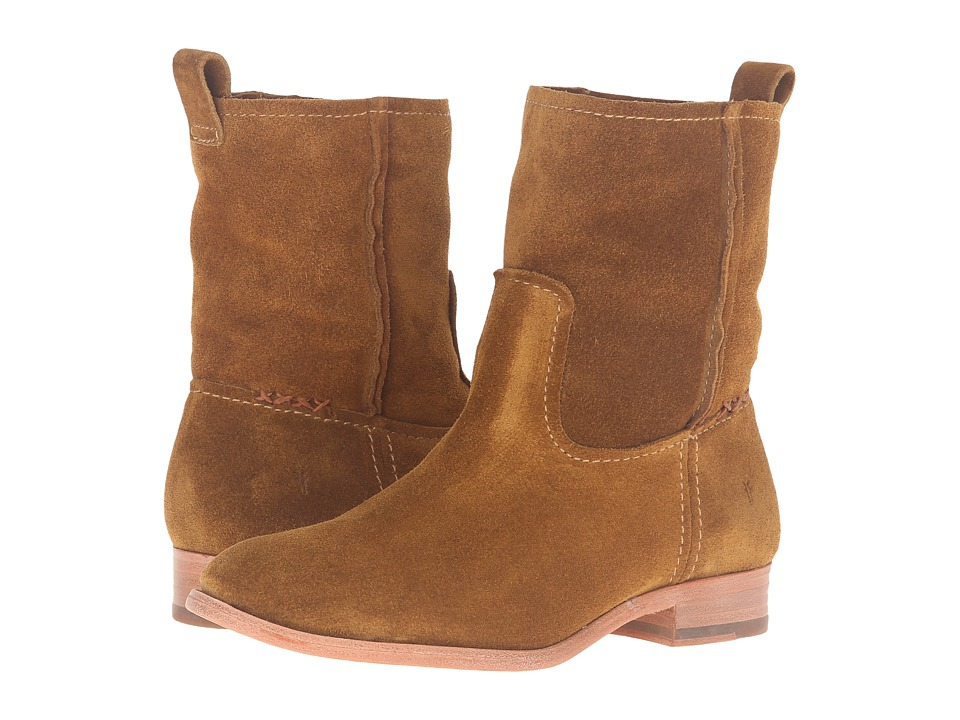 Frye - Cara Short (Wheat Oiled Suede) Women