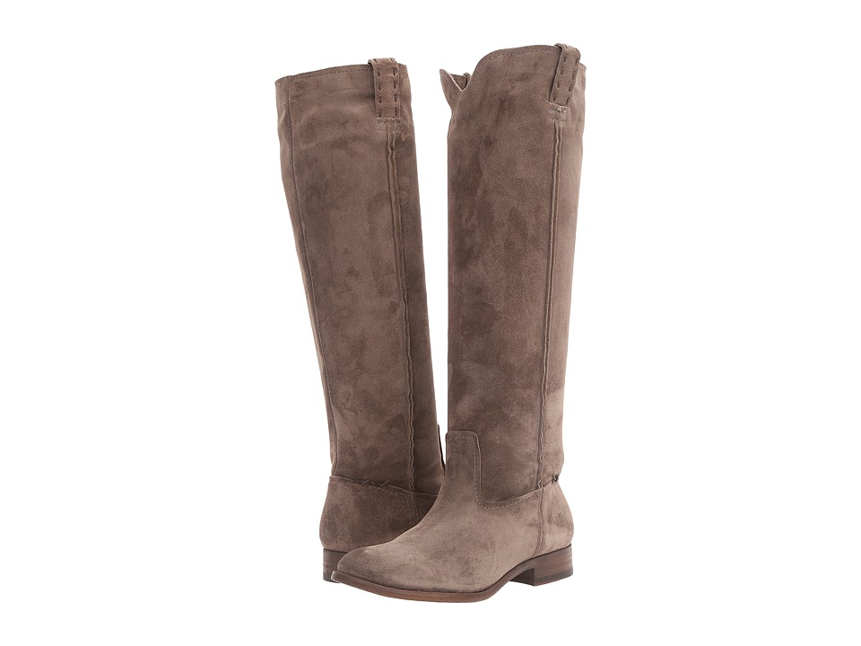Frye - Cara Tall (Elephant Oiled Suede) Women