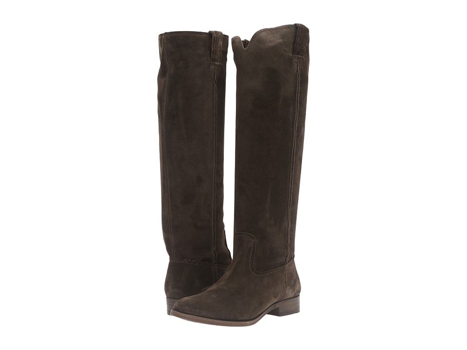 Frye - Cara Tall (Fatigue Oiled Suede) Women