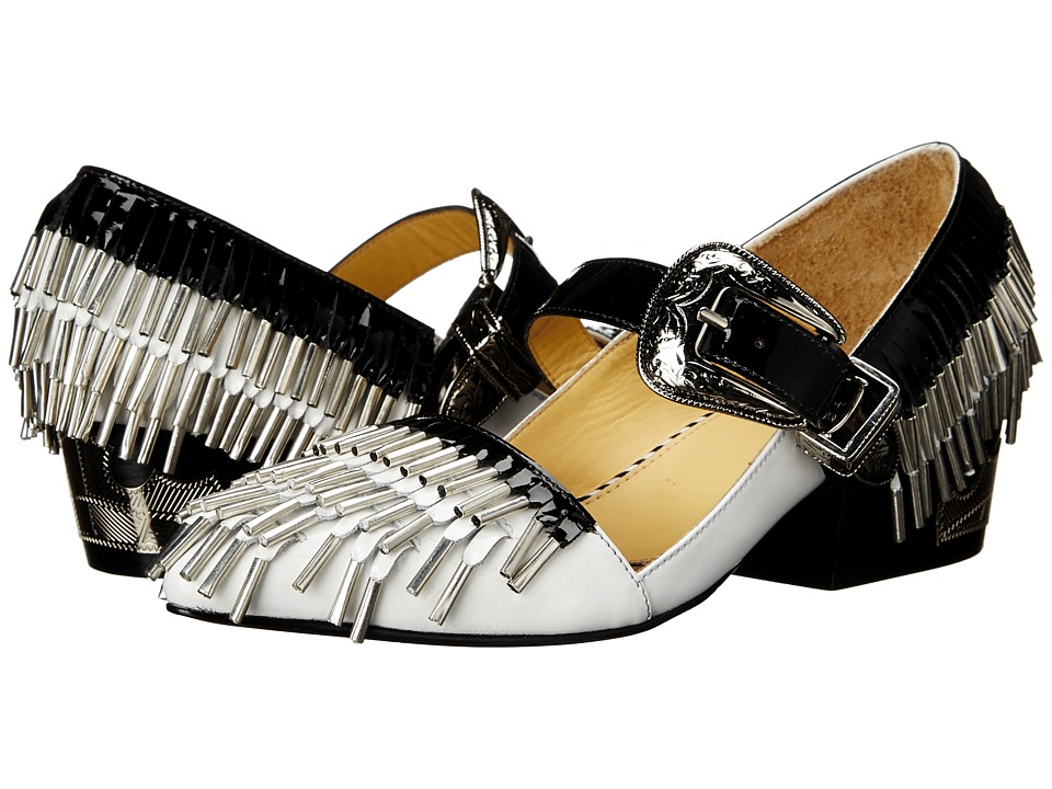 Toga Pulla AJ762 White/Black Womens Shoes