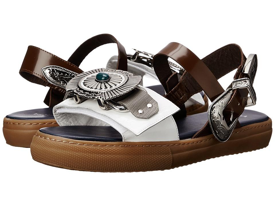 Toga Pulla AJ767 White Mix Womens Shoes