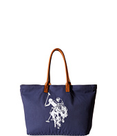 U.S. POLO ASSN. - Branded Canvas Tote