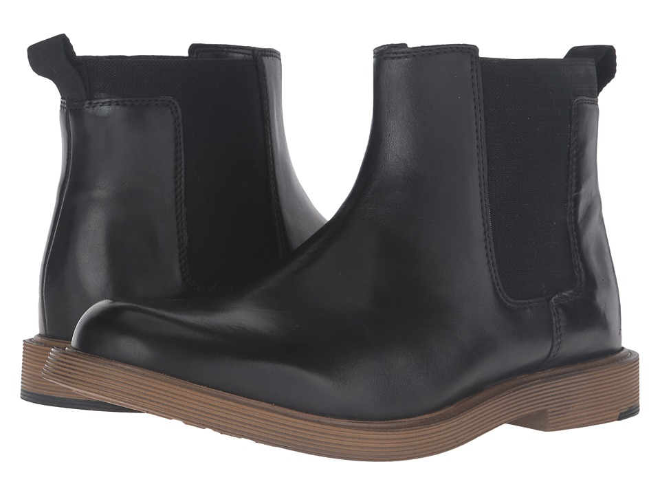 Clarks - Feren Top (Black Leather) Men