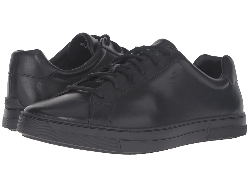 Clarks - Ballof Up (Black Leather) Men