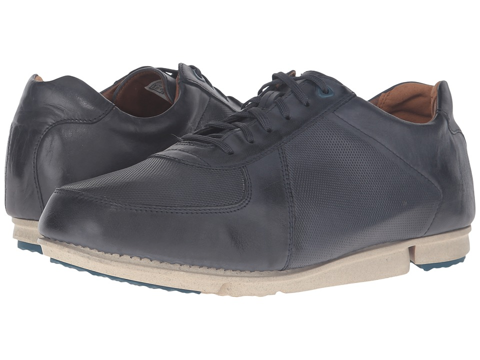 Clarks - Triturn Race (Dark Blue Leather) Men