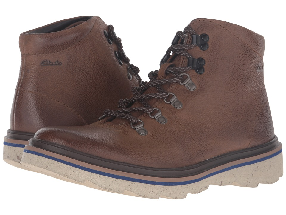 Clarks - Frelan Alp (Brown Leather) Men