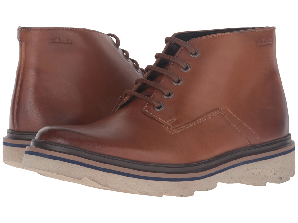 Clarks - Frelan Hike (Cognac Leather) Men