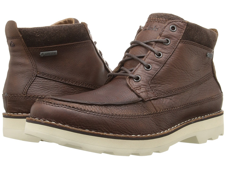 Clarks - Korik Rise GTX (Tobacco Leather) Men