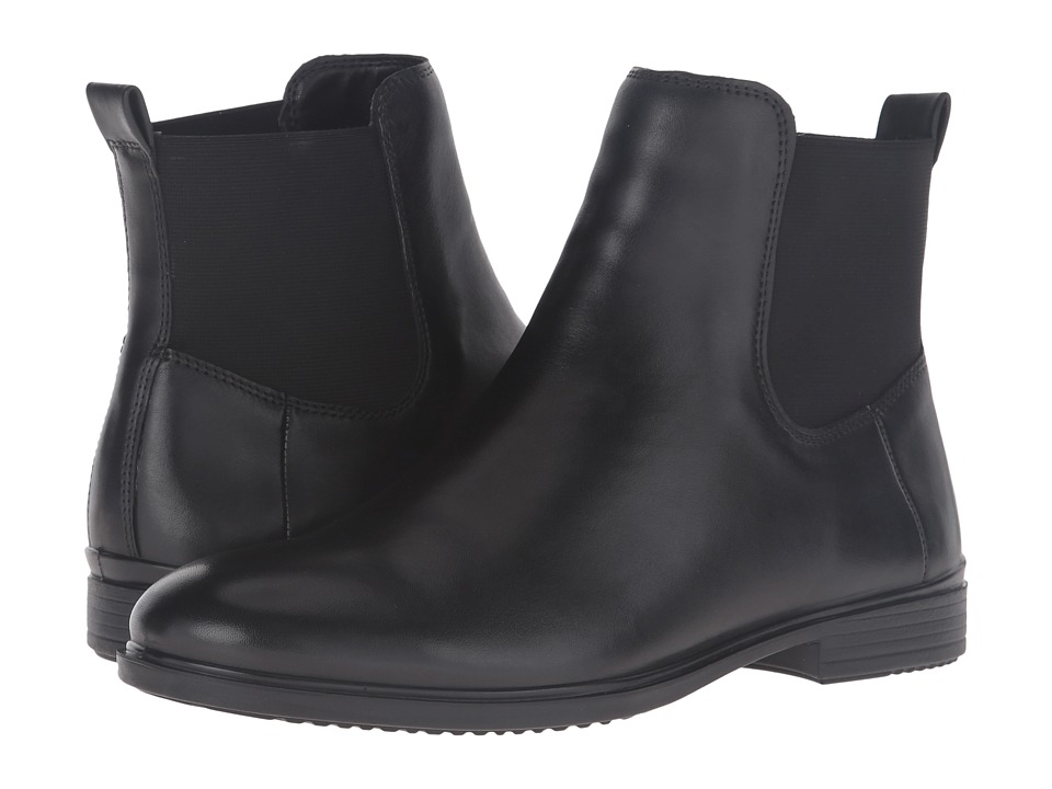 ECCO - Touch 15 Ankle Boot (Black Cow Leather) Women