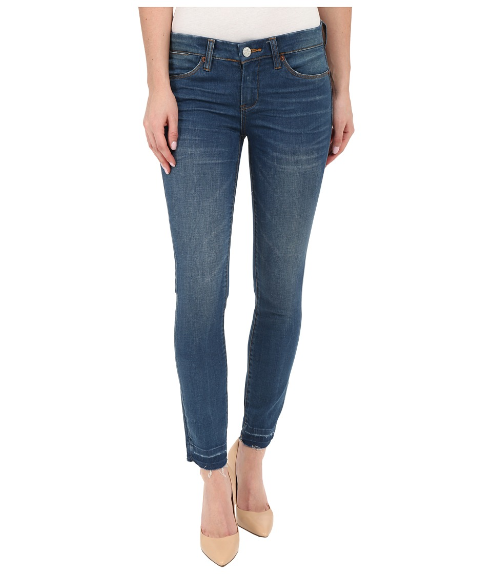 Blank NYC Crop Skinny Jeans in Denim Blue Denim Blue Womens Jeans