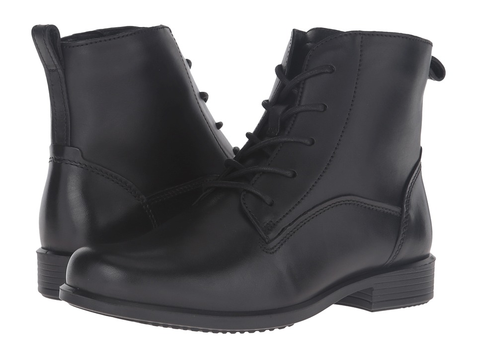 ECCO Touch 25 Lace Boot (Black 2) Women