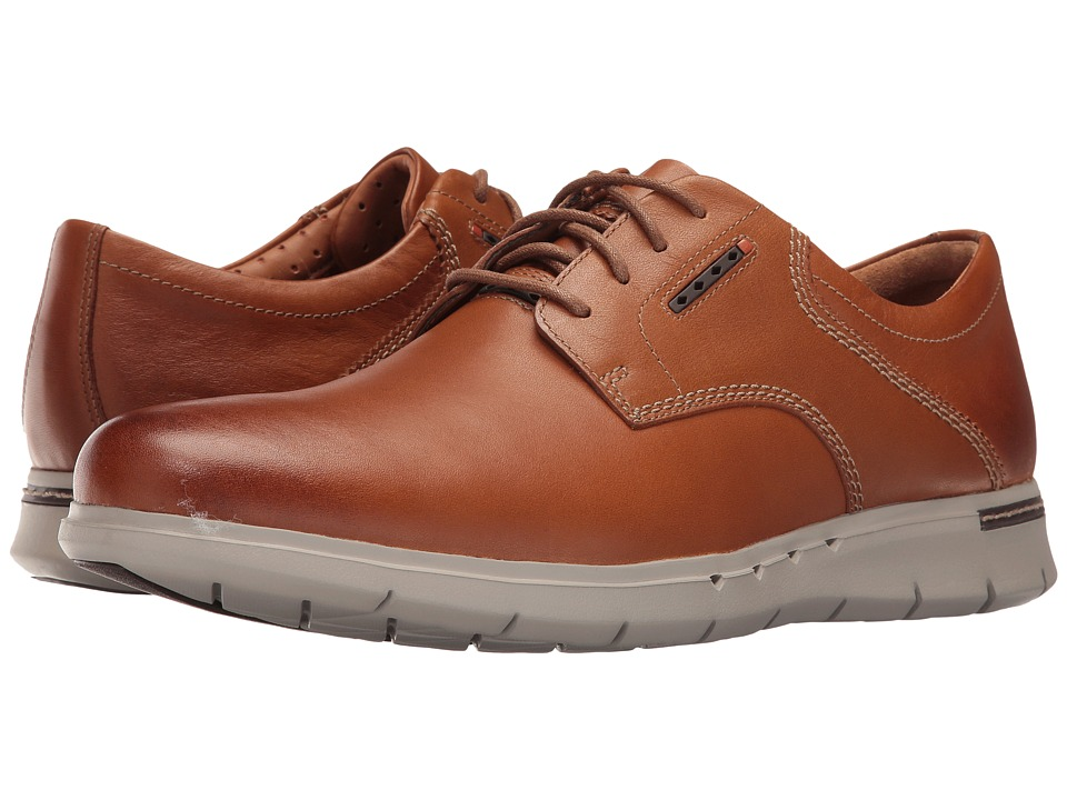 Clarks Un.Byner Lane (Tan Leather) Men