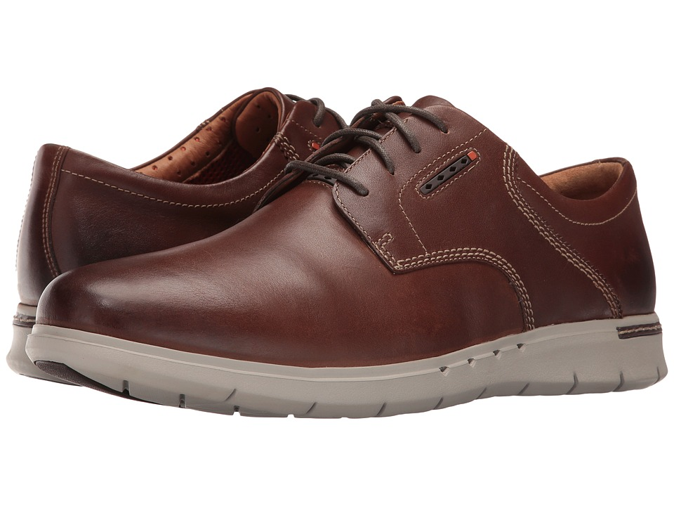 Clarks Un.Byner Lane (Dark Brown Leather) Men