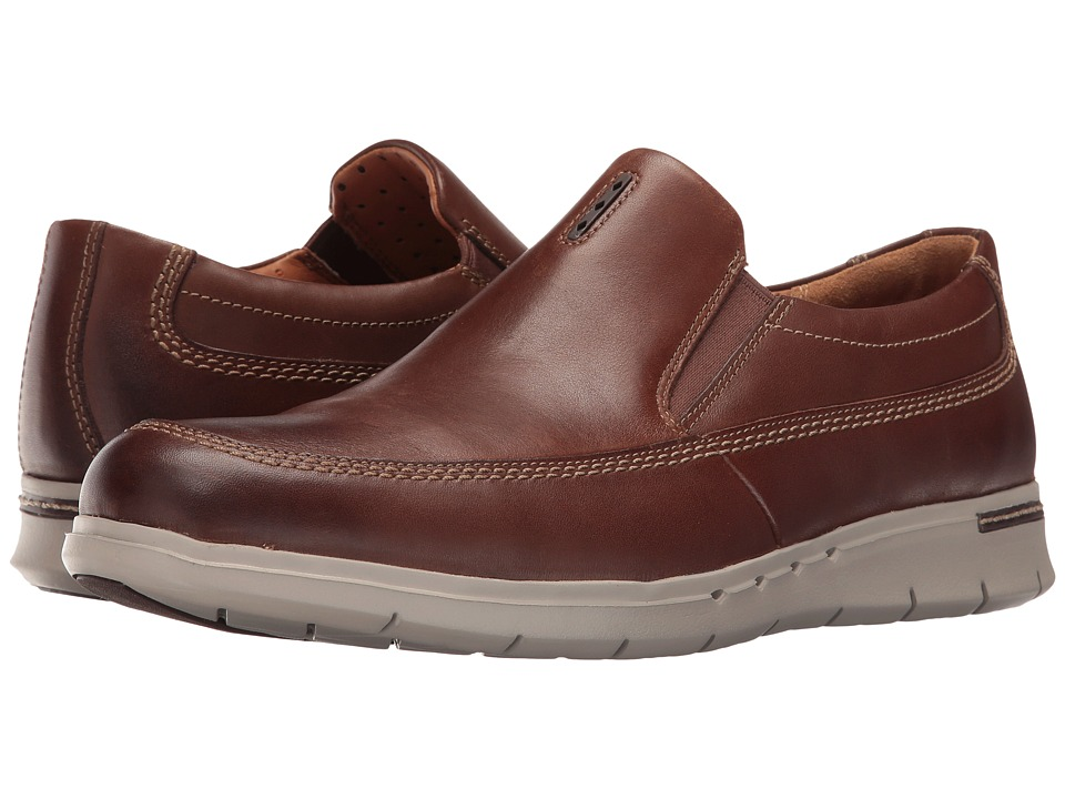 Clarks Un.Byner Easy (Dark Brown Leather) Men