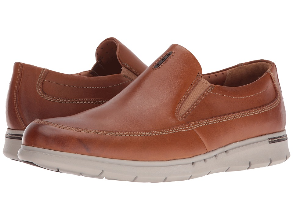 Clarks Un.Byner Easy (Tan Leather) Men
