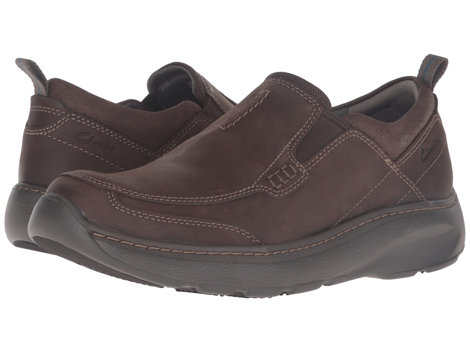 Clarks Charton Step (Brown Nubuck) Men