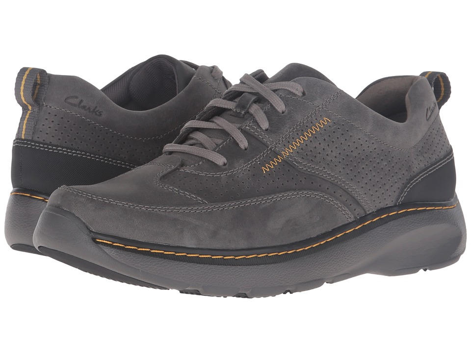Clarks Charton Mix (Grey Leather) Men