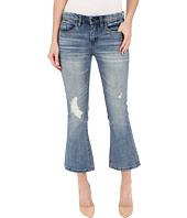 Blank NYC - Crop Kick Flare Jeans in Denim Blue