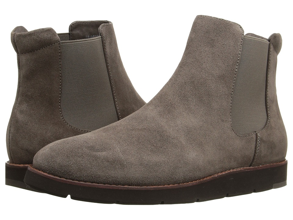 Johnston & Murphy Bree Gore Ankle Boot (Charcoal Italian Waterproof Suede/Charcoal Waterproof Gore) Women