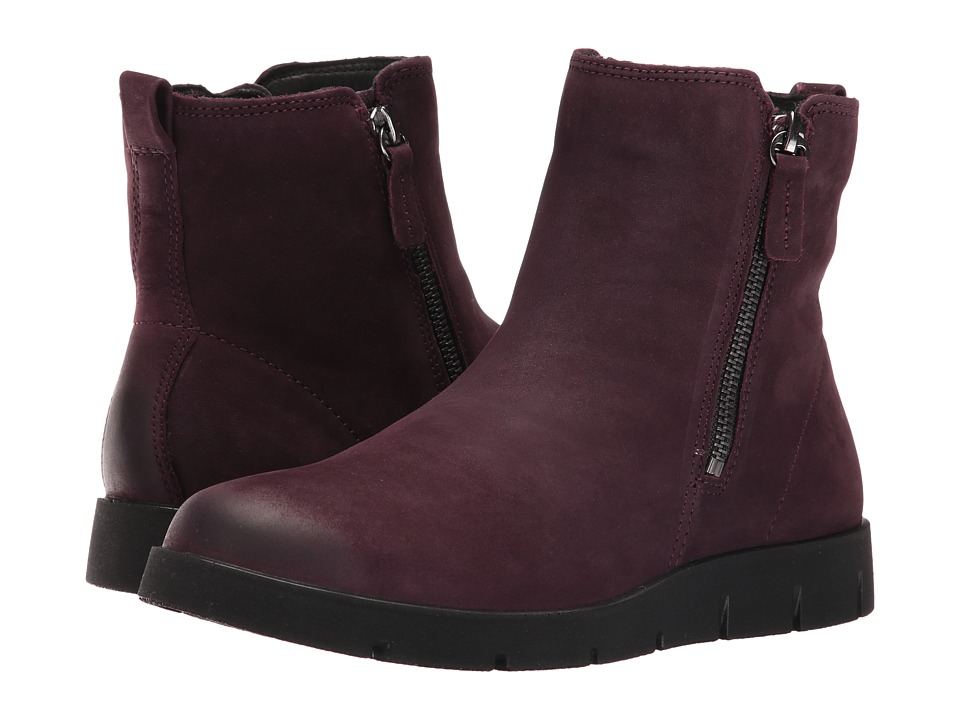 ECCO Bella Zip Boot (Mauve) Women
