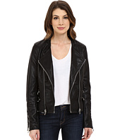 Blank NYC - Vegan Leather Moto Crop Jacket