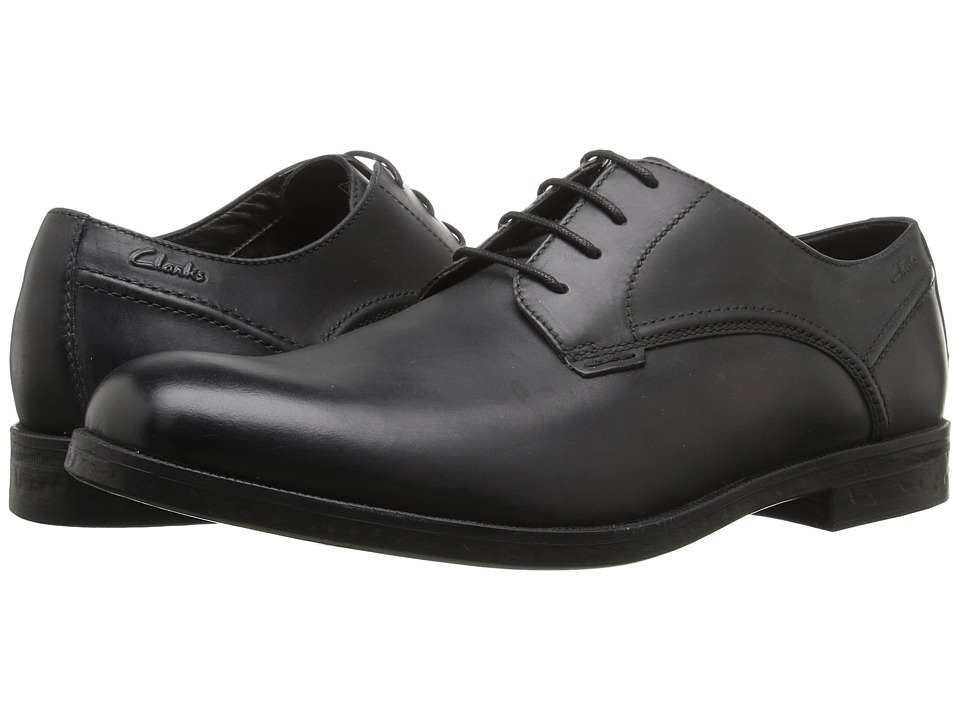 Clarks - Brocton Walk (Black Leather) Men