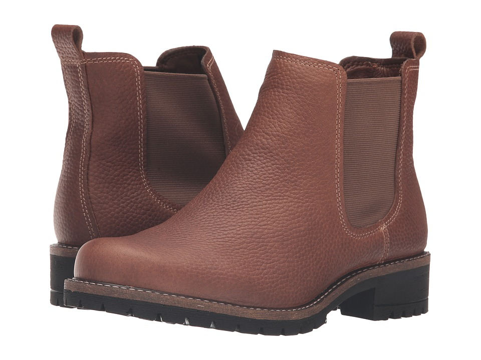 ECCO - Elaine Chelsea Boot (Cocoa Brown Cow Leather) Women