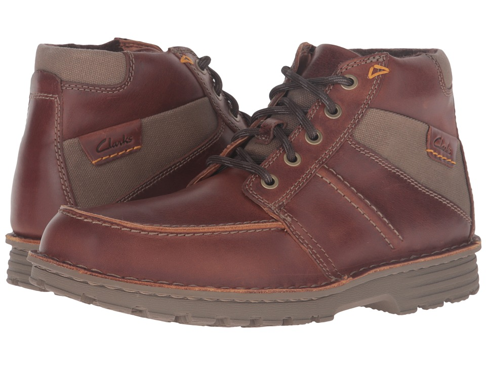 Clarks - Sawtel Summit (Tan Leather) Men