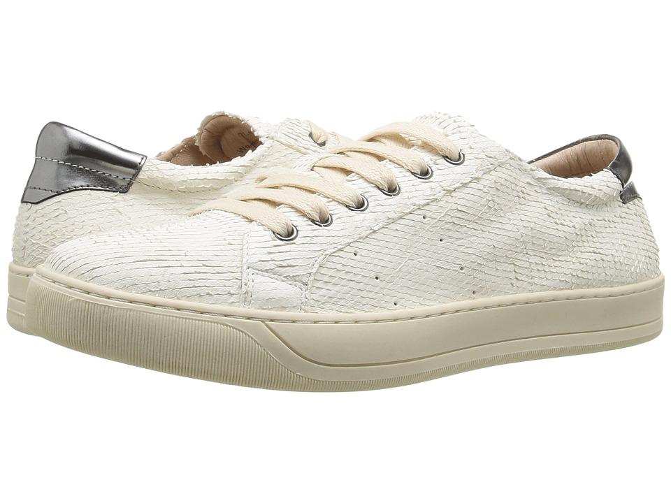 Johnston & Murphy Emerson Sneaker (Off-White Italian Snak...