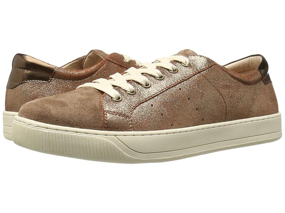 Johnston & Murphy Emerson Sneaker (Copper Italian Metallic Suede) Women