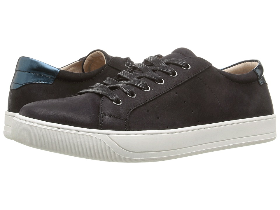 Johnston & Murphy Emerson Sneaker (Black Italian Nubuck) ...