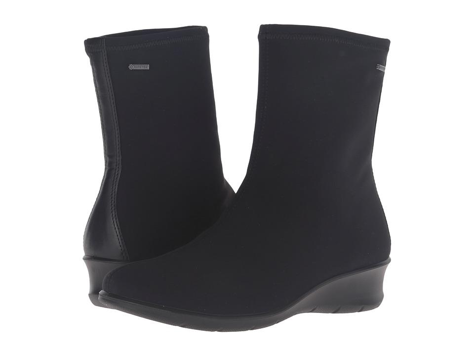 ECCO - Felicia GTX Boot (Black/Black) Women