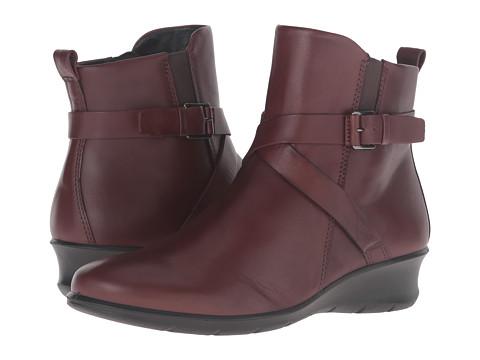 ECCO 爱步 女士休闲短靴