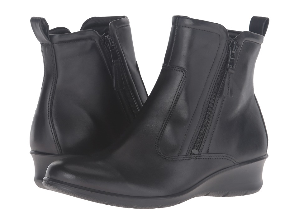 ECCO - Felicia Ankle Boot (Black Cow Leather) Women