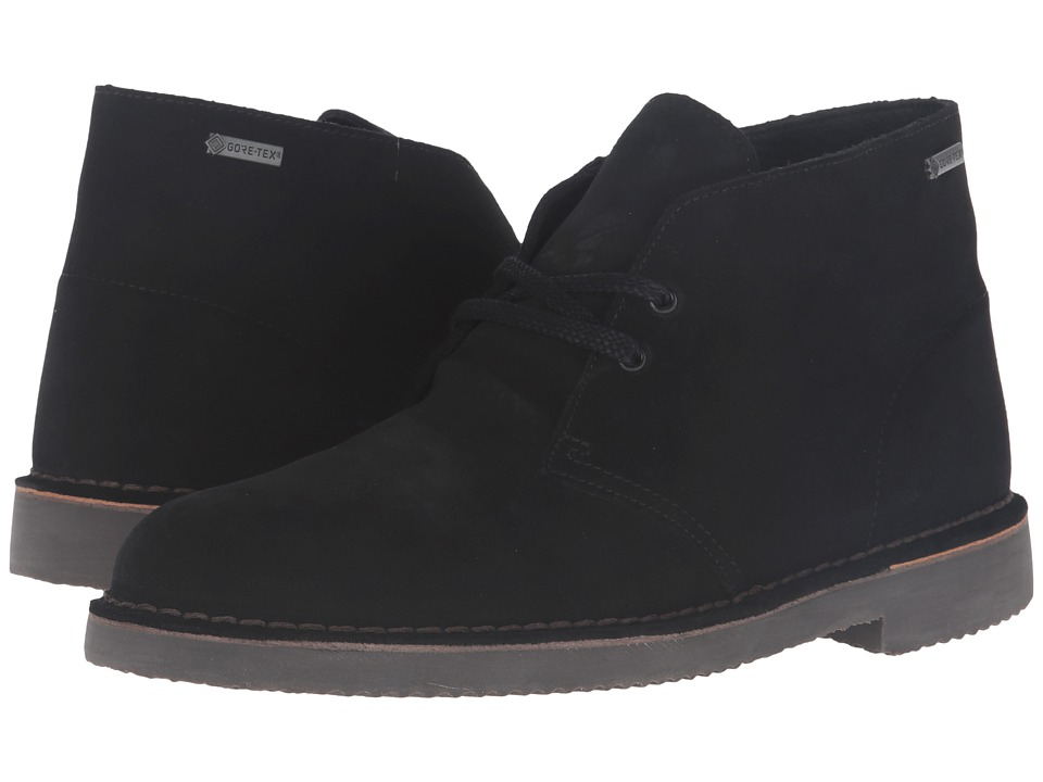 Clarks - Desert Boot GTX (Black Suede) Men